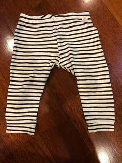Zara Baby Girl Striped Legging