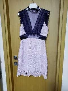 Topshop 紫色連身裙