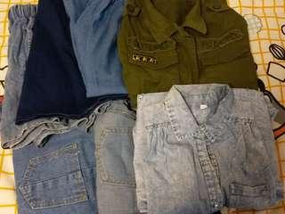 Denim Set(7 clothes)