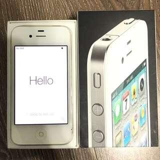 🚚 iPhone4 32G 白色