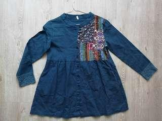 🚚 Baby doll style tribal blouse with details