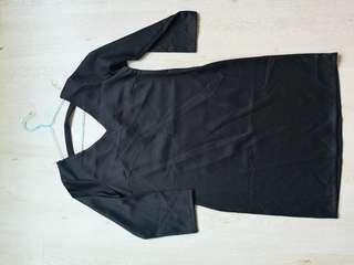 🚚 Black Classic Dress