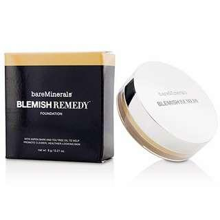 🚚 BNIB Brand New bareMinerals Blemish Remedy Foundation 02 Clearly Pearl (Mineral Loose Powder Setting Anti-Ageing Anti-Aging Concealer Corrector BB CC Cream Blemishes Acne Pore Care Bareminerals Baremineral Bare Minerals)