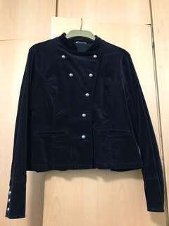 黑色短身外套 M&S black jacket
