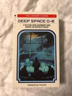 Deep Space D6 Kickstarter solo dice board game
