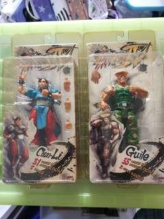 🚚 NECA Street Fighter Guile & Chunli