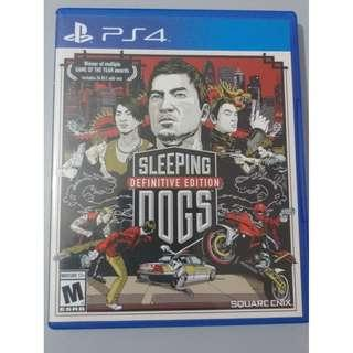 Sleeping Dogs Definite Edition (PS4)