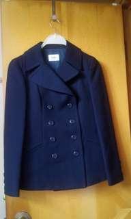 女裝深藍色西裝套裝 ( 西裝外套+裙)Dk Navy Ladies Suit