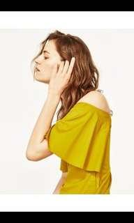 Zara off shoulder dress