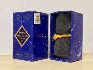 Royal Selangor Pewter hip flask