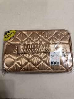 泰國NaRaYa 金色化妝丶雜物袋