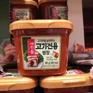 🚚 Costco好市多🇰🇷CJ韓式烤肉蔬菜用沾醬 900g 韓式料理 韓式辣醬