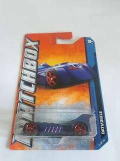 Hotwheels matchbox batmobile