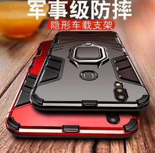 iPhone /三星/OPPO/華為/vivo/小米 手機 系列 ♥時尚潮流 隱形支架 軍事級防摔 手機殼