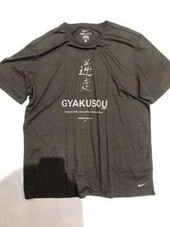 Nike X undercover Gyakusou Kanji Print Dri Fit T Shirt