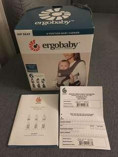 🚚 Ergobaby 6 Positions Hip Seat Baby Carrier - Carbon Mesh
