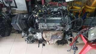 Engine 4g91 auto buka dari halfcut nak manual pun boleh