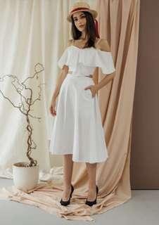 Modelano Cerra Skirt White
