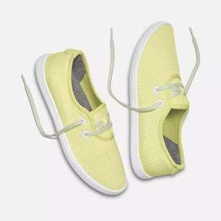 "AllBirds Yellow ""Tree Skipper"" Sneakers"