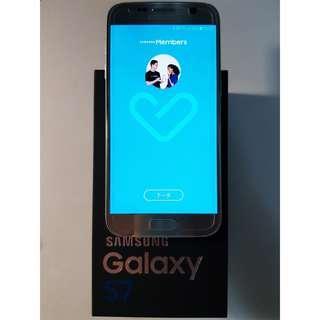 SAMSUNG GALAXY S7手機旗艦機空機銀4G RAM32G ROM指紋辨識 光學防手震 防水防塵 1200萬畫素