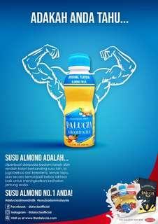 Dalucia almond milk