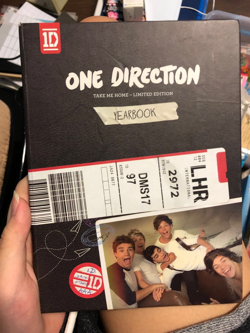 [ wts ] one direction take me home - limited edition