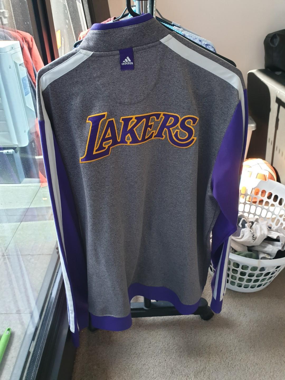Adidas LA Lakers Warmup Jacket Christmas Edition (2010-2011)