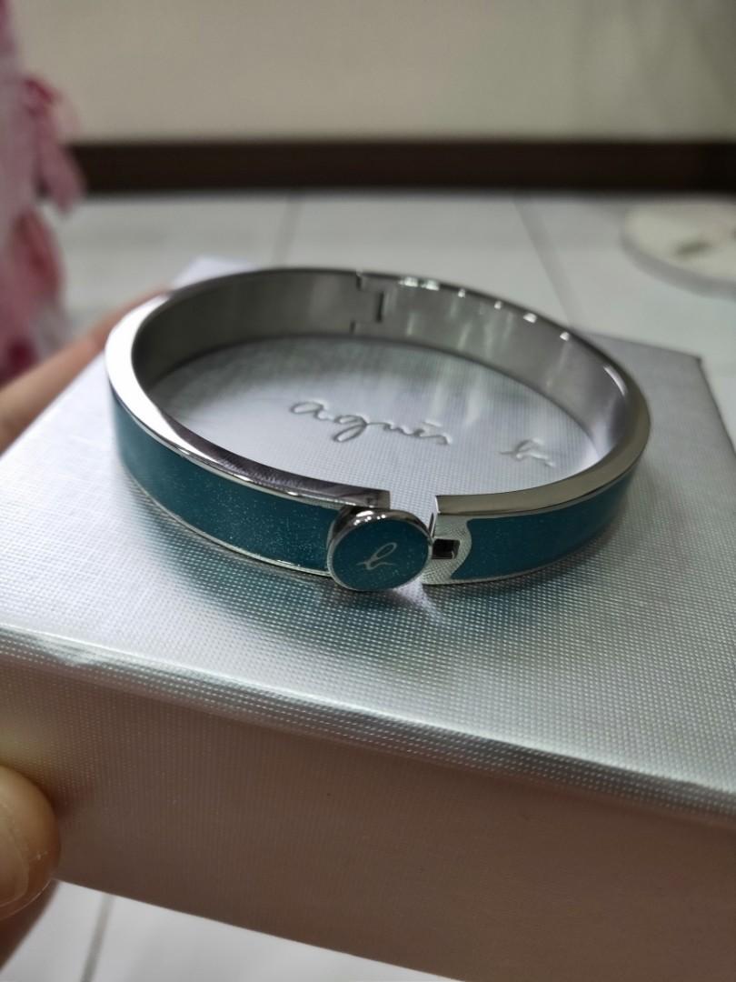 全新正品agnes b. 女生精緻手環飾品