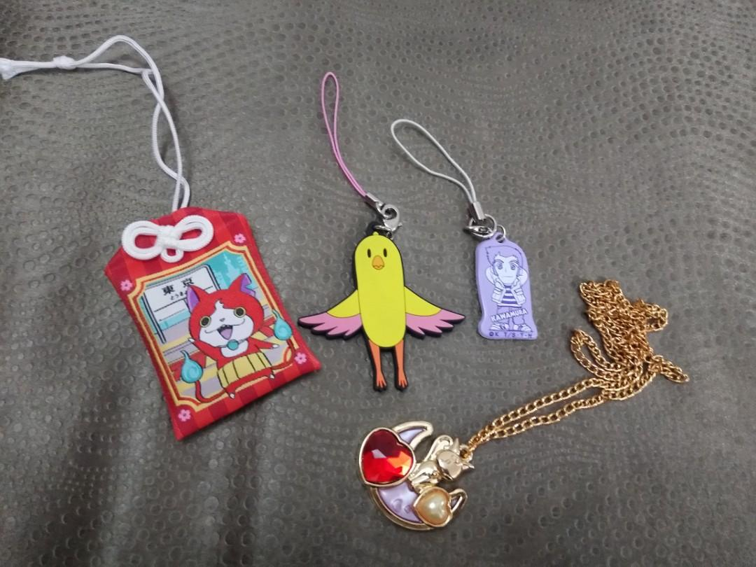 Anime Keychains & Necklace