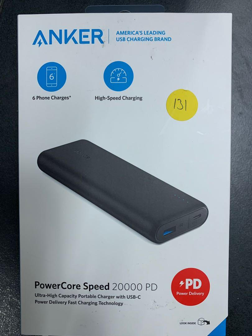 Anker PowerCore Speed 20000 PD-SOLD, Mobile Phones & Tablets