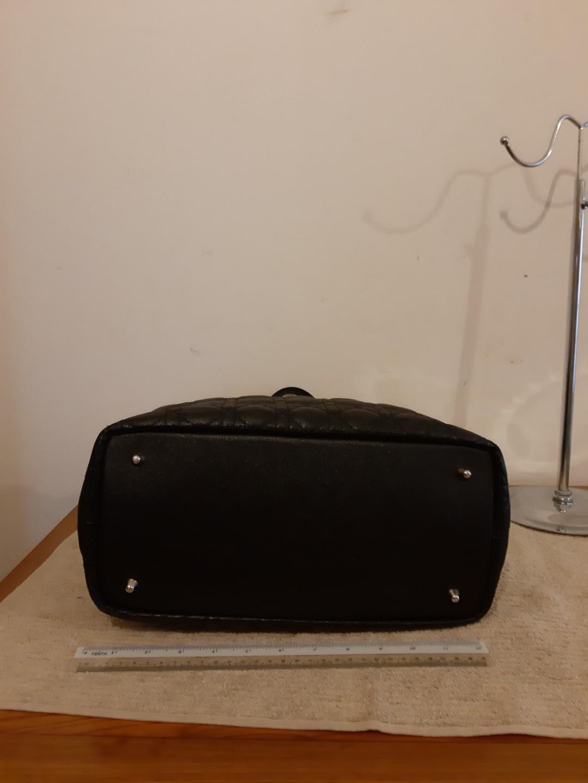 AUTHENTIC DIOR MEDIUM PANAREA SHOULDER TOTE BAG - BLACK COLOUR - OVERALL GOOD,  CLEAN INTERIOR- (RETAILS AROUND RM 5000+) - RM 960 ONLY