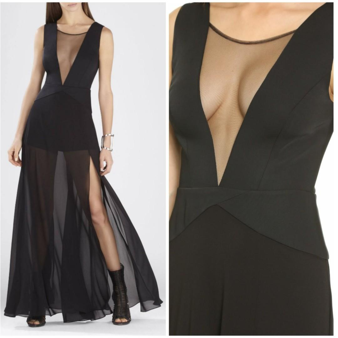 BCBG black dress for fancy occasions - Prom, cocktail party, evening party