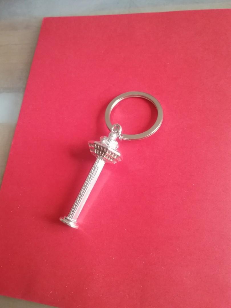 Beautiful Key chain Changi Tower