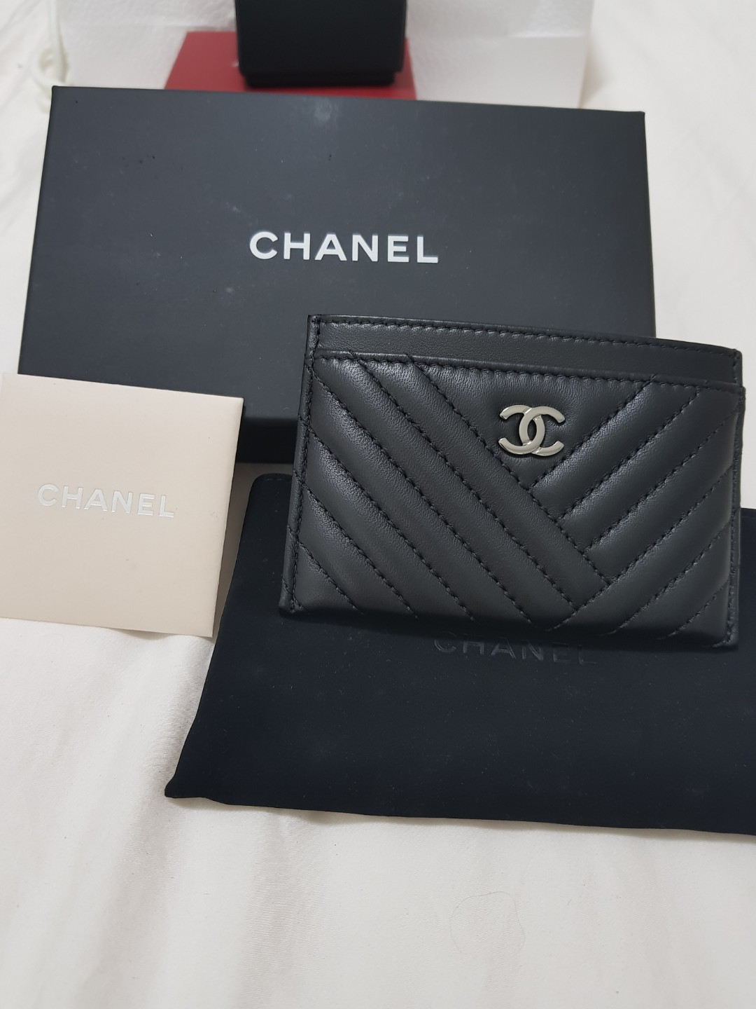 8626f586cd83 BN authentic Chanel classic card holder, Luxury, Bags & Wallets ...