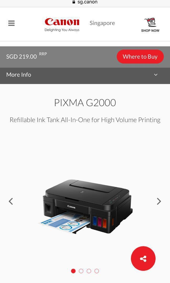 By Photo Congress    Canon G2000 Printer Not Printing Colour