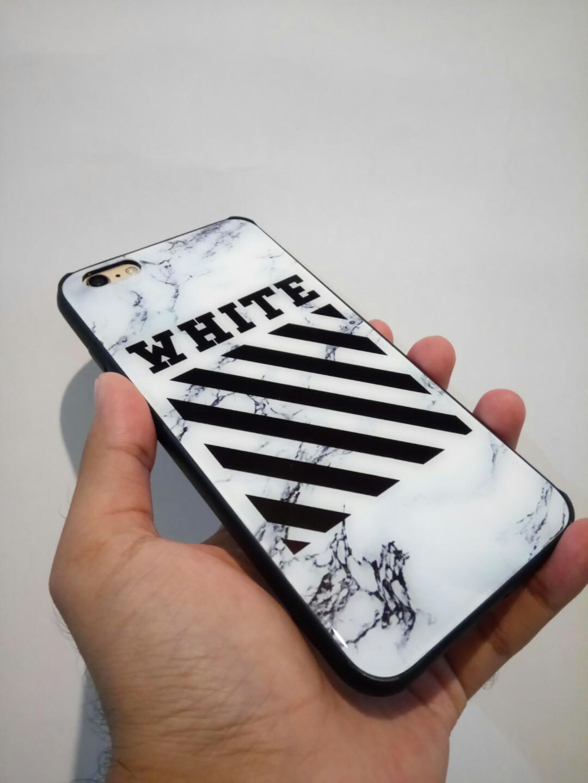 Case white marble iphone 6 plus 6+ / 6s plus 6s+