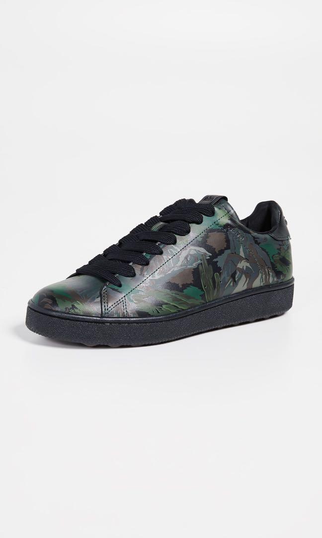 aeb294d4 Coach Men Black/Green Camo Sneakers (Sale), Men's Fashion, Footwear ...