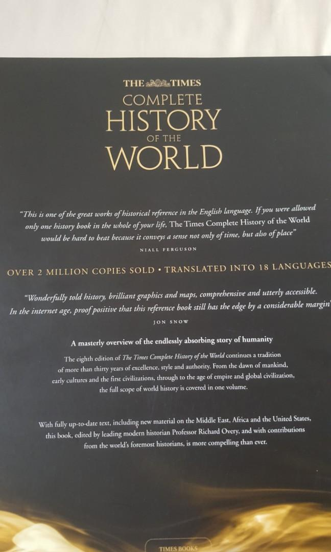 'Complete History of the World' by Richard Overy