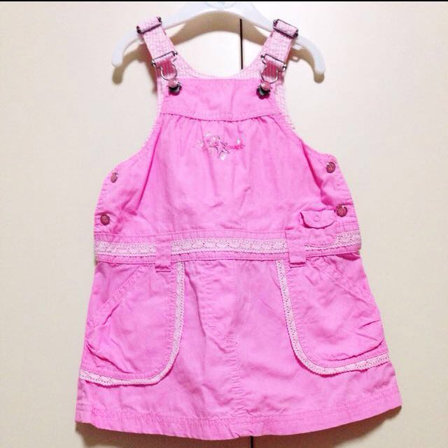 030a52d8181 Esprit Pink Jumper Dress With Shorts For Little Girl