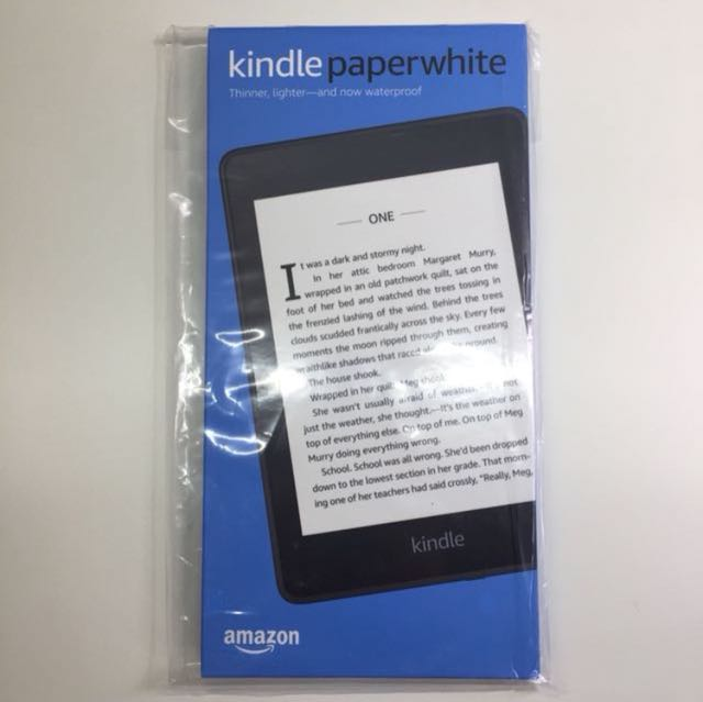 [Free eBooks] New Sealed 2018 Kindle Paperwhite 8gb