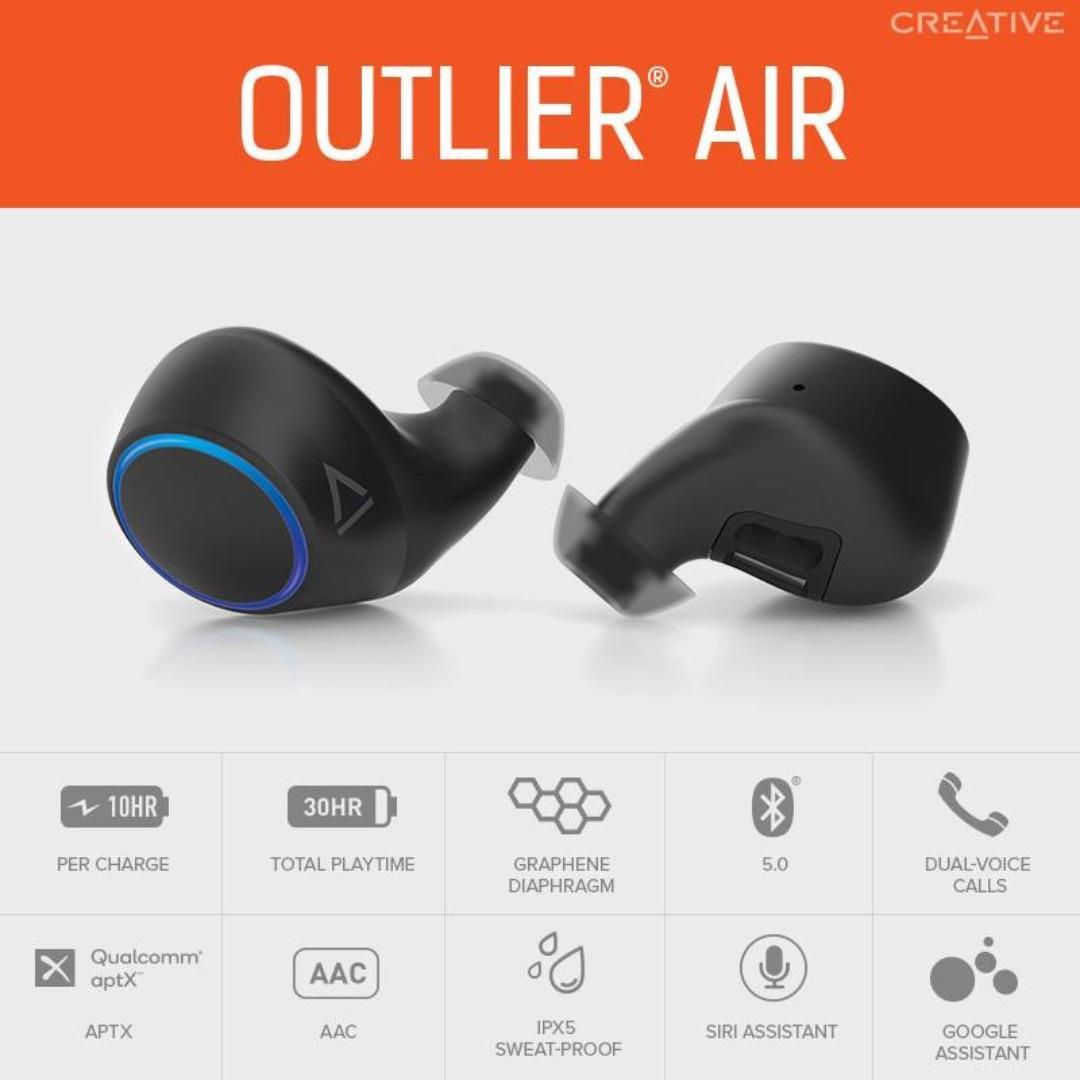 FREE PROMO CODE FOR CREATIVE OUTLIER AIR/ CREATIVE OUTILIER