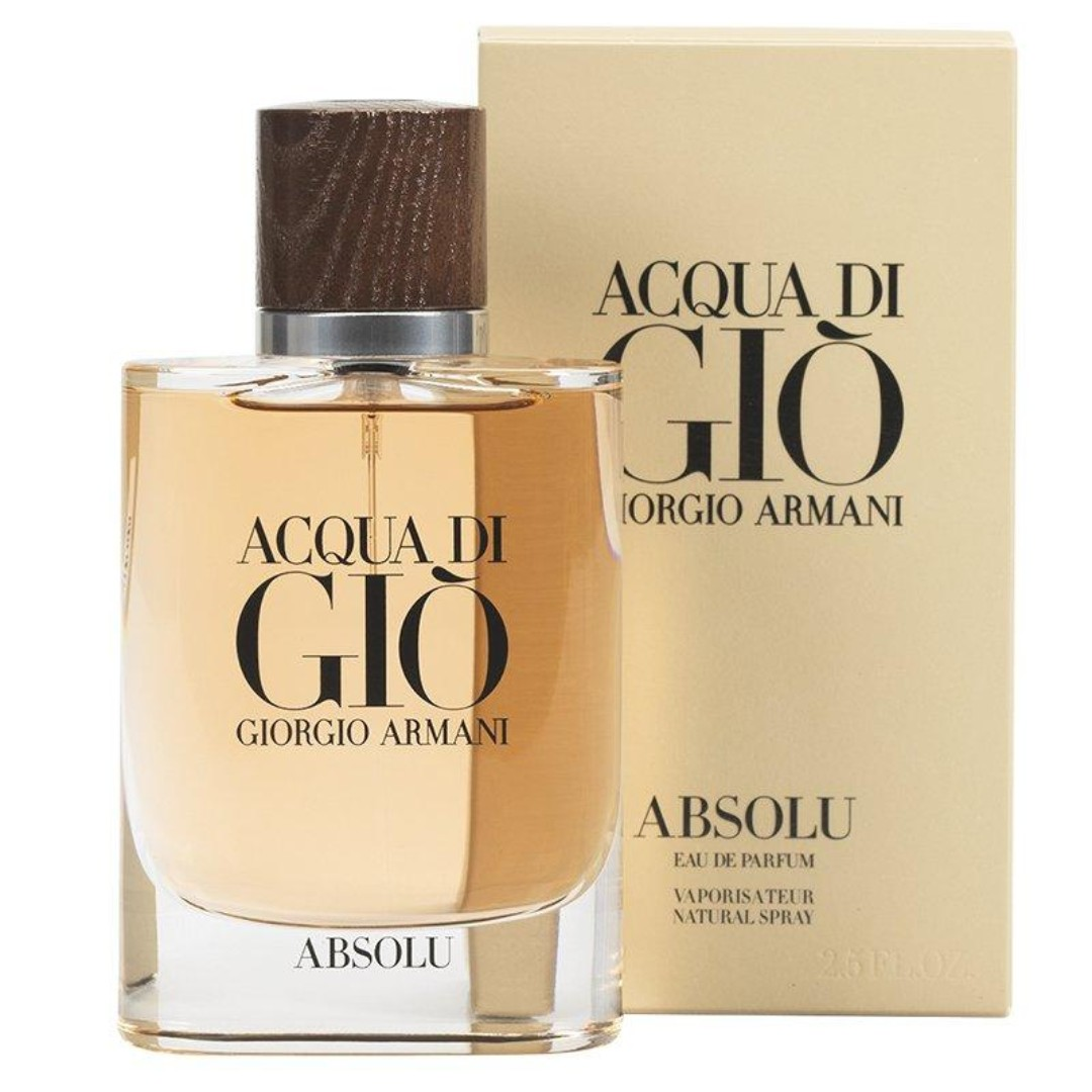 Giorgio Armani Acqua Di Gio Absolu Eau De Parfum For Men 125ml