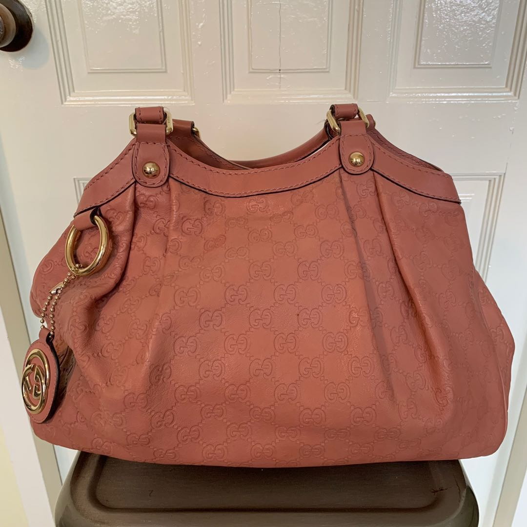 87e7dc9ffc9a Gucci Blush Pink Guccissima Leather Medium Sukey Tote Bag, Luxury ...