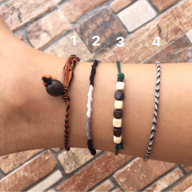 Handmade Customisable Anklet Bracelet