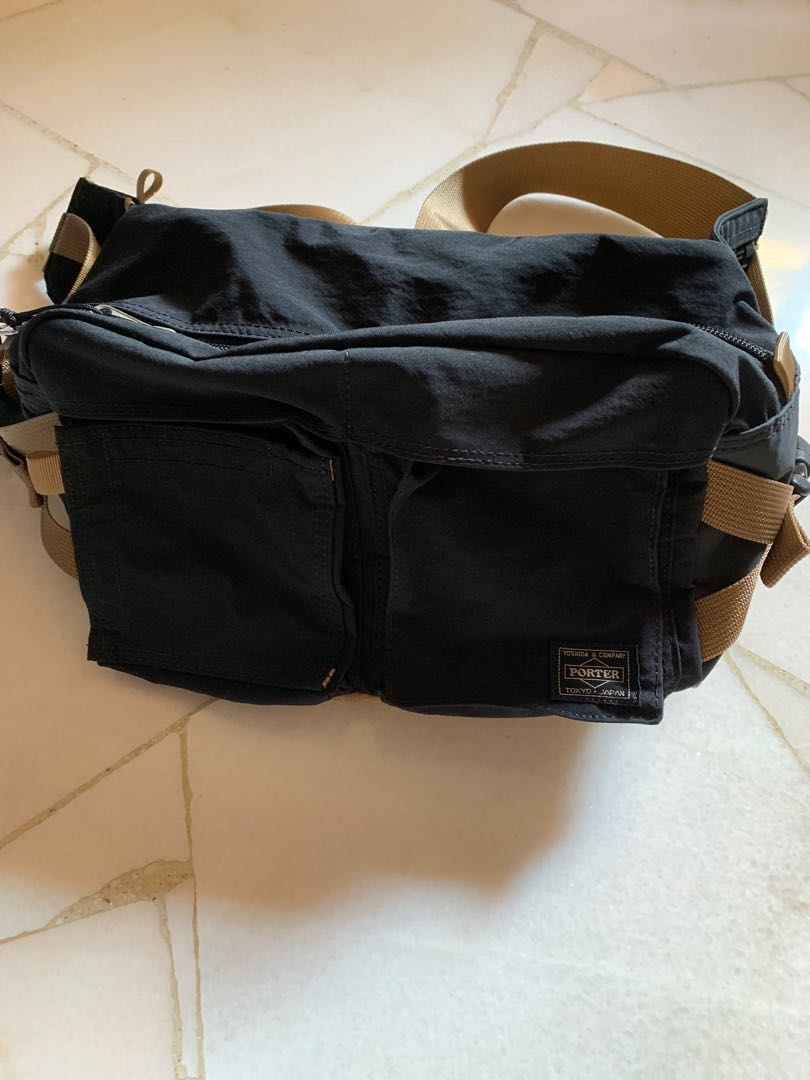 01474a8dd9 Head Porter Sling bag. Yoshida and company Tokyo edition.