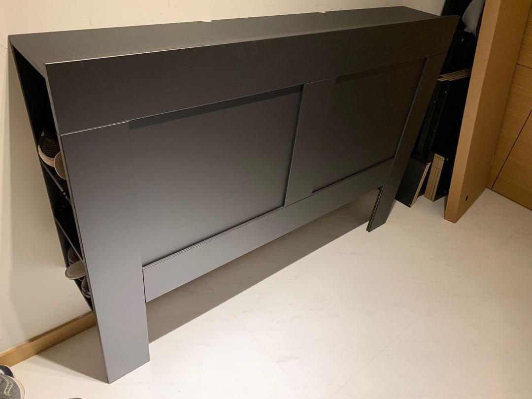 sports shoes c7a99 1f004 IKEA Brimnes Headboard Black ordered from IKEA USA in ...