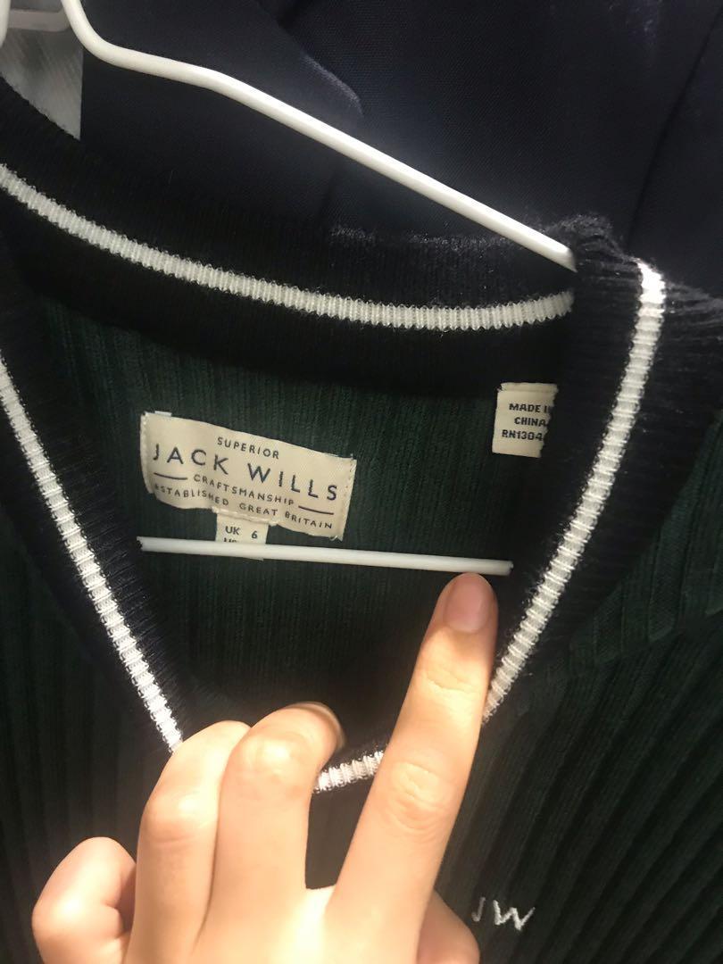 JACKWILLS sexy BODYCON DRESS (Dark green)