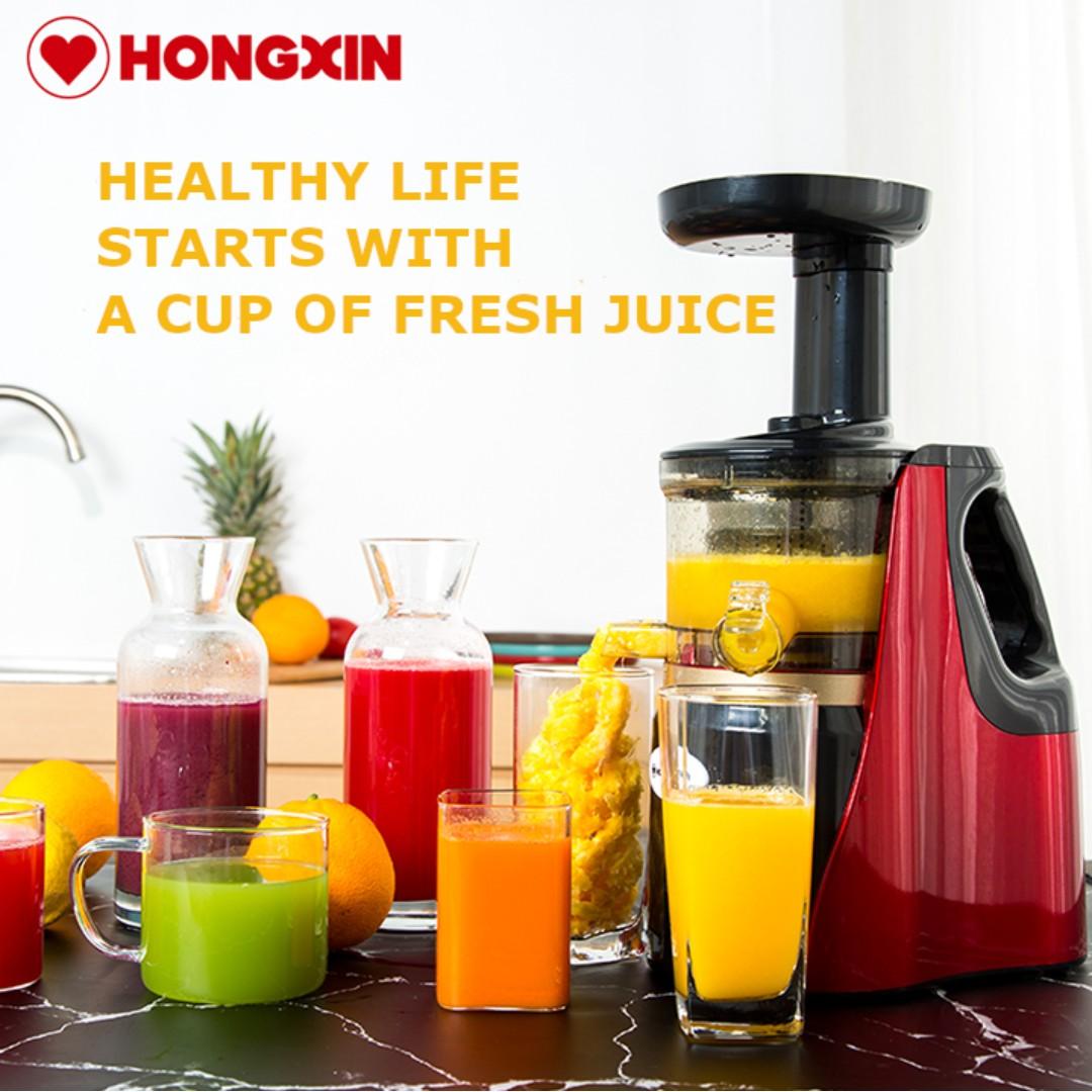 Juicer Extractor Machine Juice Fruit Vegetable Cold Press Healthy Juice No Pulp