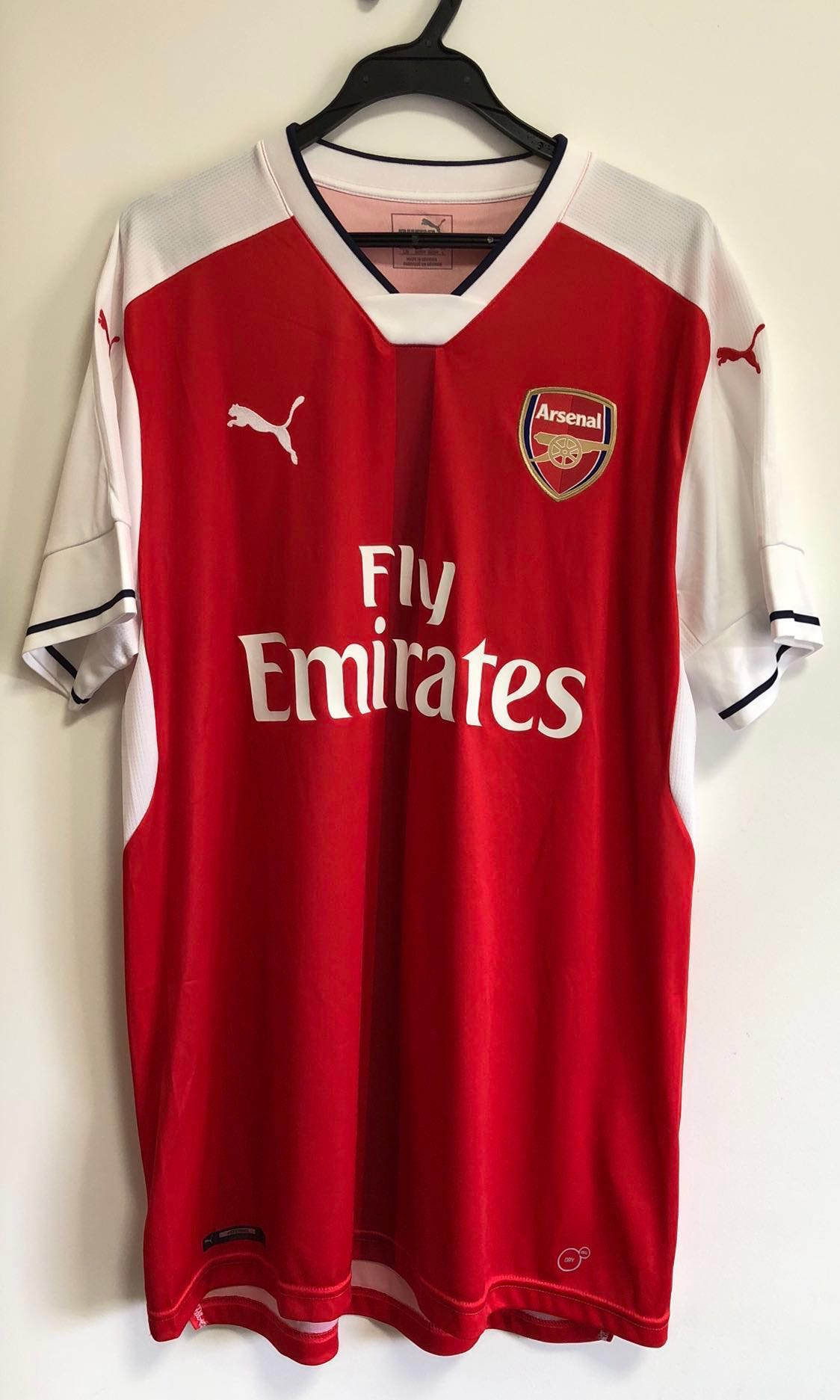 promo code 9a963 394af L size authentic 2016/17 Arsenal Home jersey top