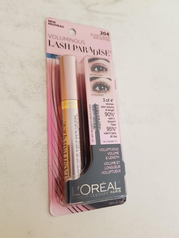 76793bece8c Loreal Mascara Voluminous Lash Paradise, Health & Beauty, Makeup on ...